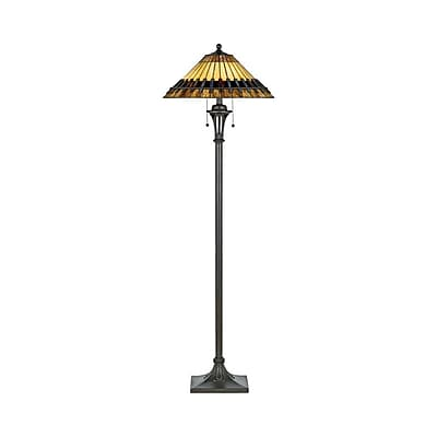 Quoizel TF489F CFL Floor Lamp, Bronze Patina
