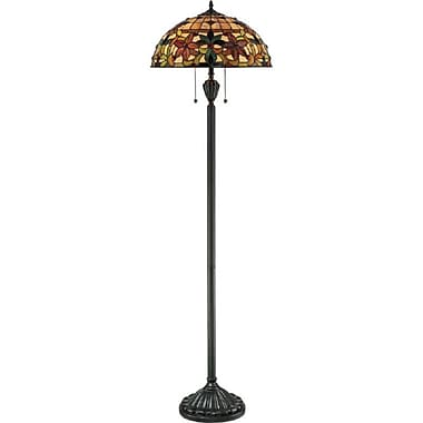 Quoizel TF878F Incandescent Floor Lamp, Vintage Bronze
