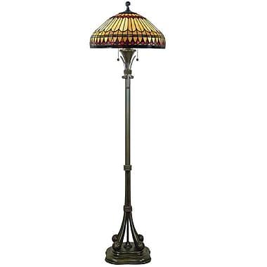 Quoizel TF9320BB Incandescent Floor Lamp, Brushed Bullion