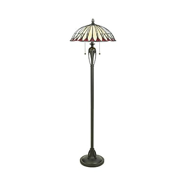 Quoizel TF9343BC Incandescent Floor Lamp, Burnt Cinnamon