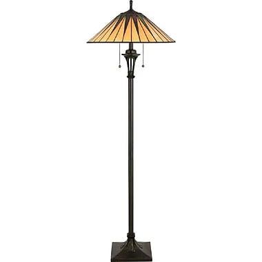 Quoizel TF9397VB Incandescent Floor Lamp, Vintage Bronze