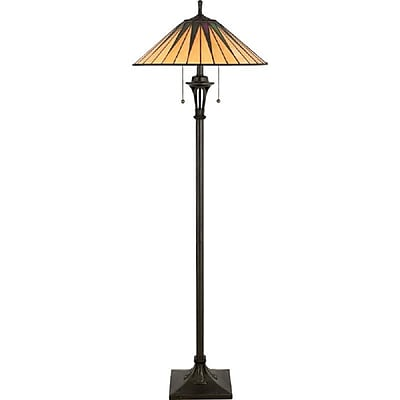 Quoizel TF9397VB Incandescent Floor Lamp, Vintage Bronze