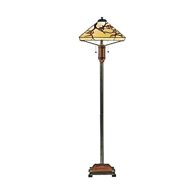 Quoizel TF9404M Incandescent Floor Lamp, Multi
