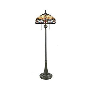 Quoizel TFBF9362VB Incandescent Floor Lamp, Vintage Bronze