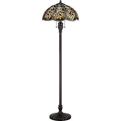 Quoizel TFBL9360IB Compact Fluorescent Floor Lamp, Imperial Bronze