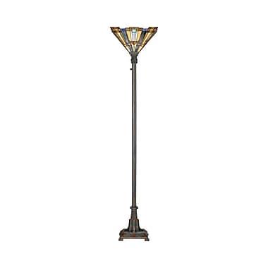 Quoizel TFIK9471VA Incandescent Floor Lamp, Valiant Bronze