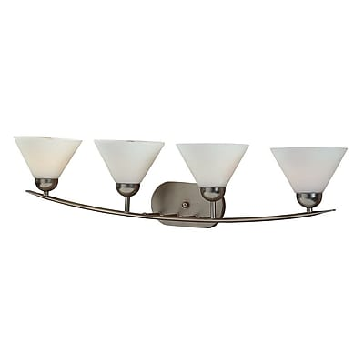 Quoizel DI8504ES Incandescent Vanity Light, Empire Silver