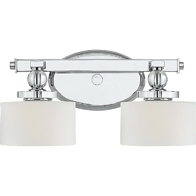 Quoizel DW8602C Halogen Vanity Light, Polished Chrome