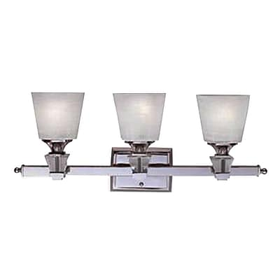 Quoizel DX8603C CFL Vanity Light Lamp, Polished Chrome