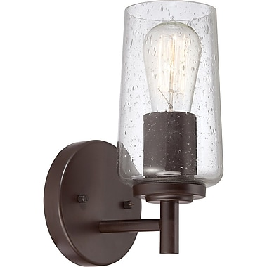 Quoizel EDS8601WT CFL Vanity Light Lamp, Western Bronze
