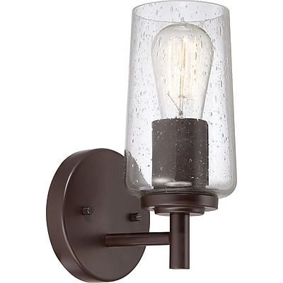 Quoizel EDS8601WT CFL Vanity Light Lamp, Western Bronze