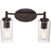 Quoizel EDS8602WT CFL Vanity Light Lamp, Western Bronze