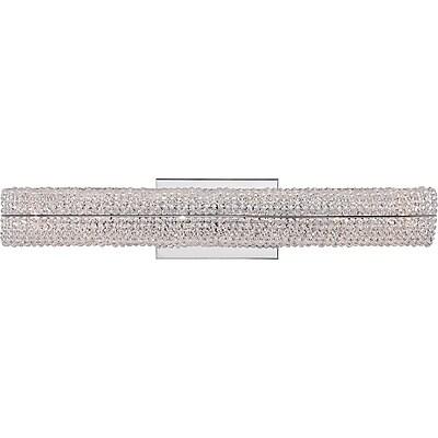 Quoizel EME8606C Xenon Vanity Light Lamp, Polished Chrome