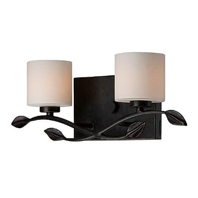 Quoizel ERN8602IB Halogen Vanity Light Lamp, Imperial Bronze