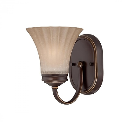 Quoizel ALZ8601PN CFL Vanity Light Lamp, Palladian Bronze