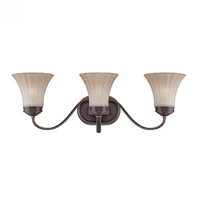 Quoizel ALZ8603PN CFL Vanity Light, Palladian Bronze