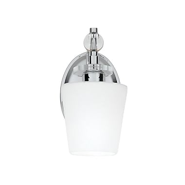 Quoizel HS8601C CFL Vanity Light, Polished Chrome