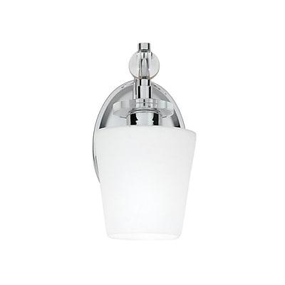 Quoizel HS8601C CFL Vanity Light, Polished Chrome