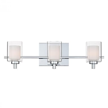 Quoizel KLT8603C Halogen Vanity Light, Polished Chrome