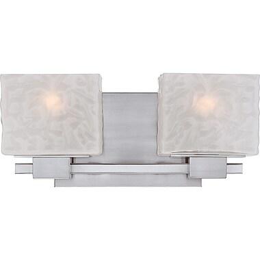 Quoizel MLD86022BN CFL Vanity Light, Brushed Nickel