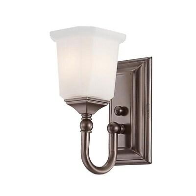 Quoizel NL8601HO Incandescent Vanity Light, Harbor Bronze