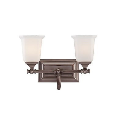 Quoizel NL8602HO Incandescent Vanity light, Harbor Bronze