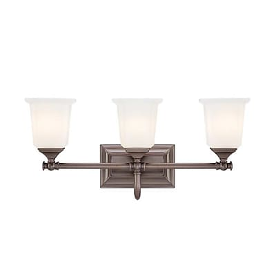 Quoizel NL8603HO Incandescent Vanity light, Harbor Bronze