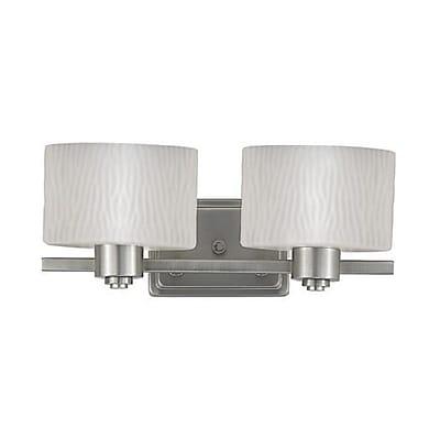 Quoizel PF8602ES Incandescent Vanity light, Empire Silver