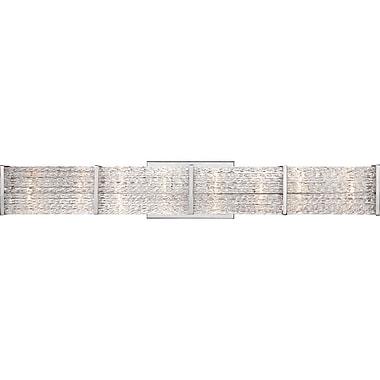Quoizel PF8608C Xenon Vanity Light, Polished chrome