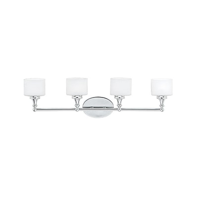 Quoizel QI8604C Halogen Vanity Light, Polished Chrome