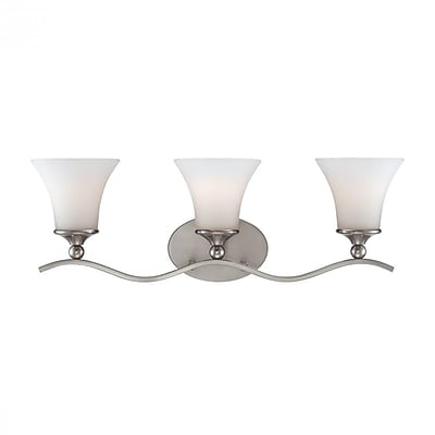 Quoizel SPH8703PN Incandescent Vanity Light, Brushed Nickel