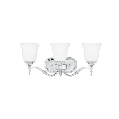 Quoizel TT8603C CFL Vanity Light Lamp, Polished Chrome