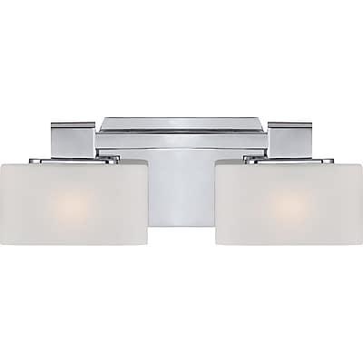 Quoizel UPTA8602C Halogen Vanity Light Lamp, Polished Chrome
