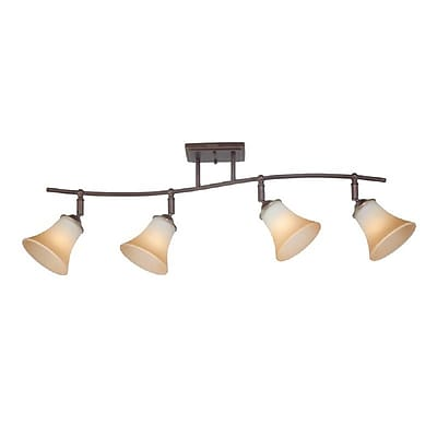 Quoizel DH1404PN Incandescent Ceiling Track Light, Palladian Bronze