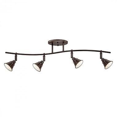 Quoizel EVE1404PN CFL Ceiling Track Light, Palladian Bronze