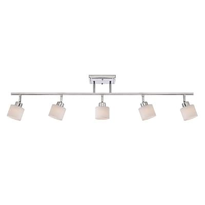 Quoizel PF1405C Incandescent Ceiling Track Light, Polished Chrome