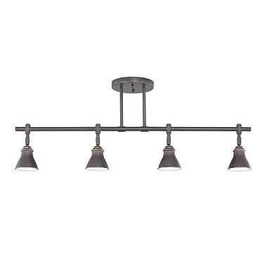Quoizel QTR10054PN Halogen Ceiling Track Light, Palladian Bronze