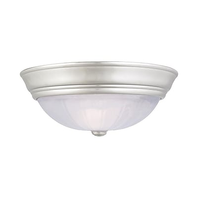 Quoizel AL183ES Incandescent Flush Mount, Empire Silver