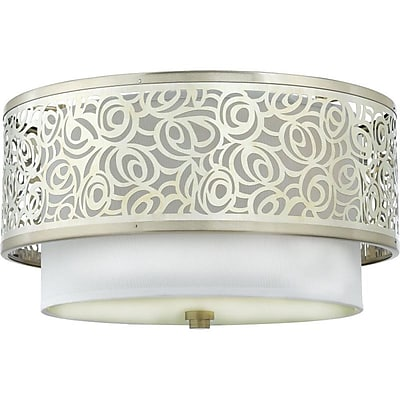Quoizel JS1615BN Incandescent Flush Mount, Brushed Nickel