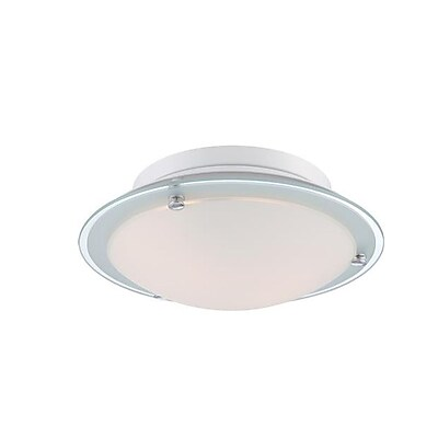 Quoizel PCBV1613C Incandescent Flush Mount, Polished Chrome
