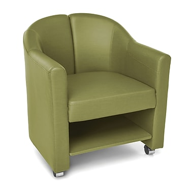 OFM Contour Mobile Club Chair, Leaf
