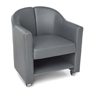 OFM Contour Mobile Club Chair, Slate (845123052112)