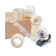 """VIBAC Acrylic Packing Tape, 2""""W x 110 Yds., Clear, 36/Carton (128-0075-ICE)"""