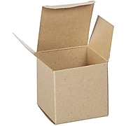 "3"" x 3"" x 3"" Reverse Tuck Folding Cartons, Brown, 250/Carton (RTC60)"