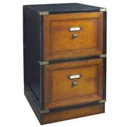 Authentic Models Campaign 2 Drawer Mobile Filing Cabinet by