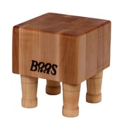 John Boos BoosBlock 4'' Thick Butcher Block Cutting Board w/ Legs