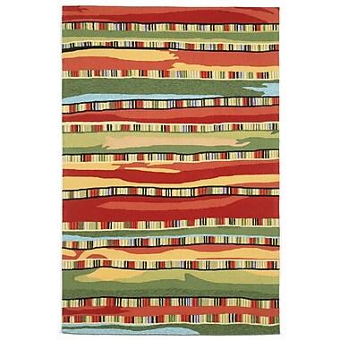 Liora Manne Ravella Fiesta Red Area Rug; 7'6'' x 9'6''