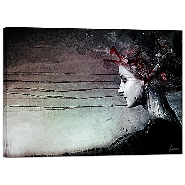 Cortesi Home ''You Promised Me a Symphony'' by Mario Sanchez Nevado Graphic Art on Wrapped Canvas