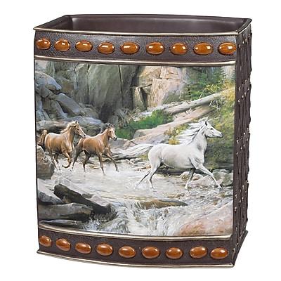 Creative Bath Horse Canyon Waste Basket