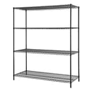 Excel All Purpose 4 Shelf Shelving Unit II; Powder Coated